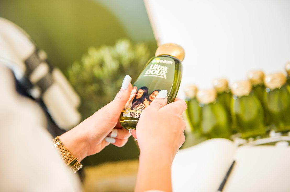 Print your picture and receive a personalized bottle of Ultra Doux!