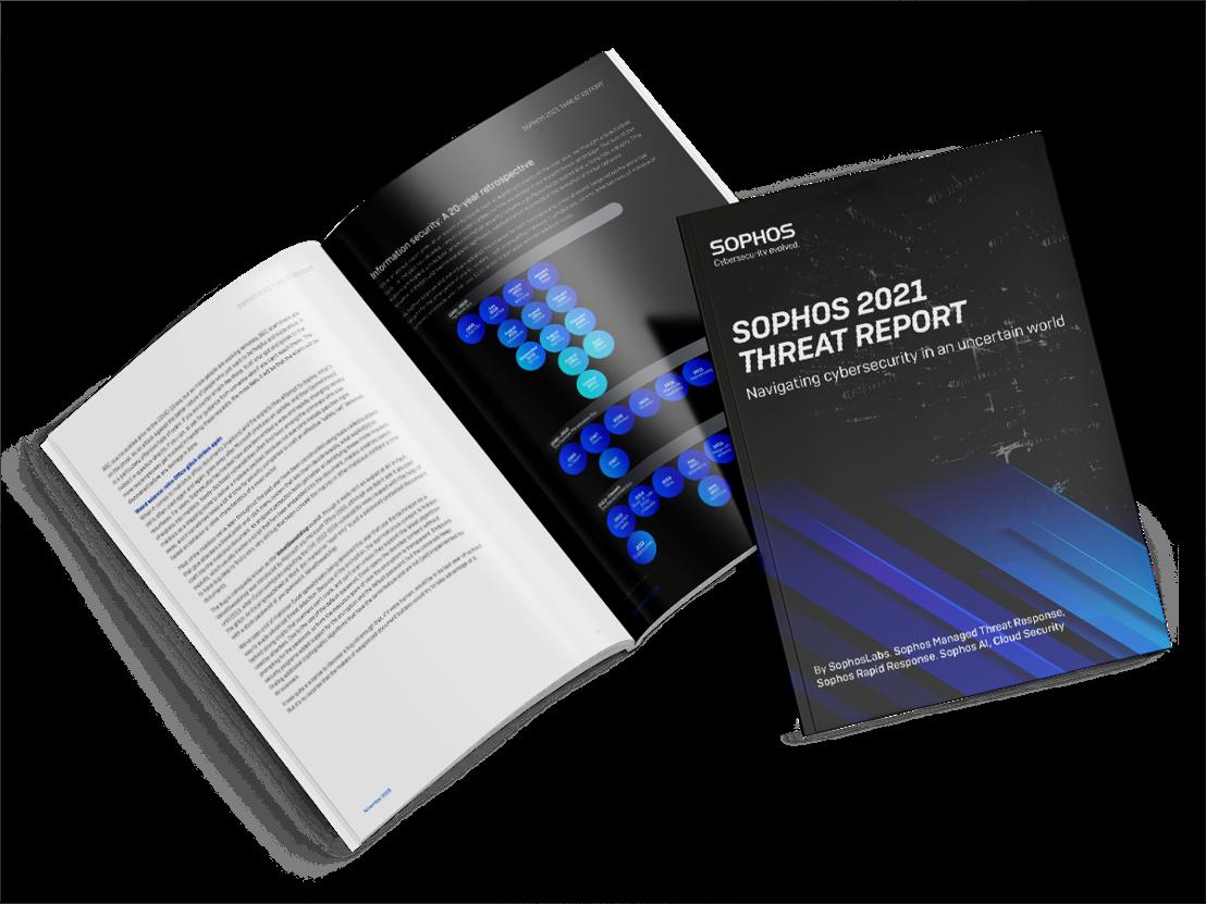 Sophos Threat Report omvat ransomware en andere trends die IT-beveiliging in 2021 vormgeven