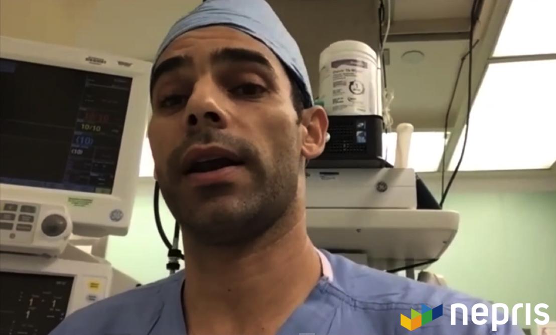 A virtual field trip of a surgical center set up via Nepris.