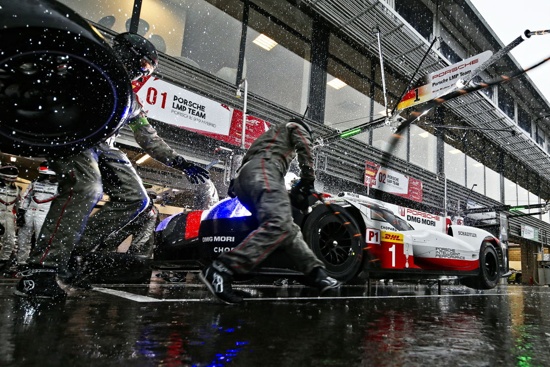 Porsche 919 Hybrid, Porsche Team: Neel Jani, Andre Lotterer, Nick Tandy