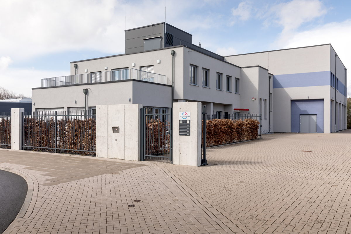 Tonstudio Tessmar, which opened in 2017, is located on a business park in the north of Hannover