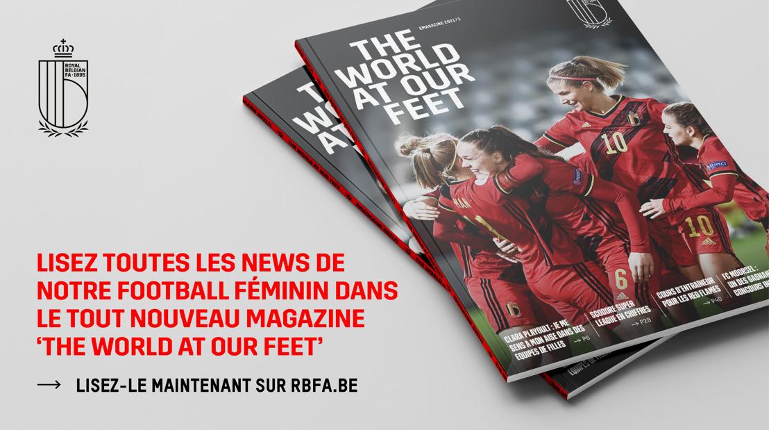 L'URBSFA publie son propre magazine sur le football féminin
