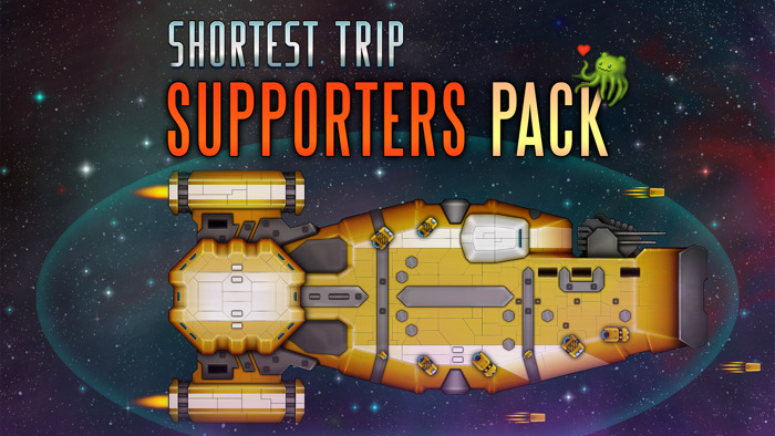 Shortest Trip to Earth: The Supporters Pack DLC out on October 23