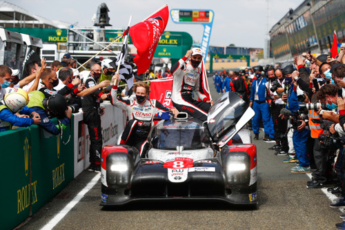 Akio Toyoda comment for victories in the Le Mans 24 Hours and Rally Turkey