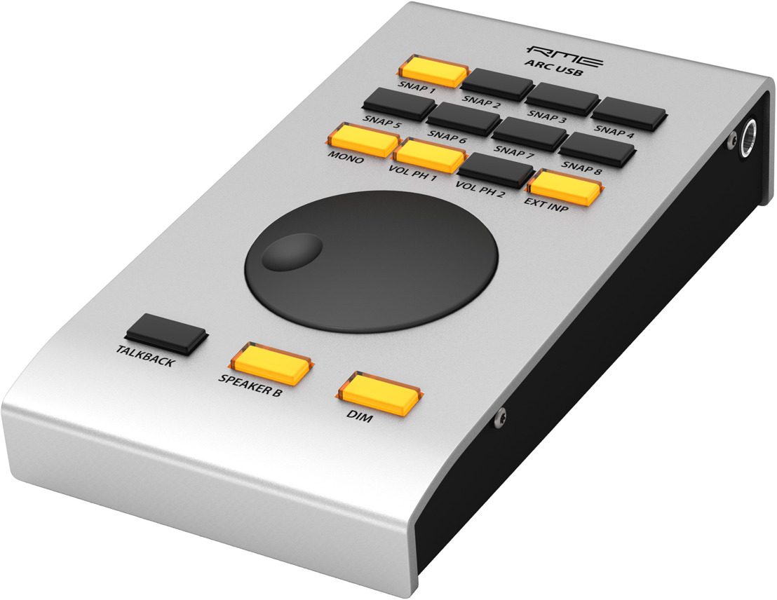 RME ARC USB Remote Control Brings Interface Functionality to Your Fingertips