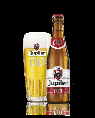 La Jupiler 0,0% fait fructifier le marché de la bière sans alcool