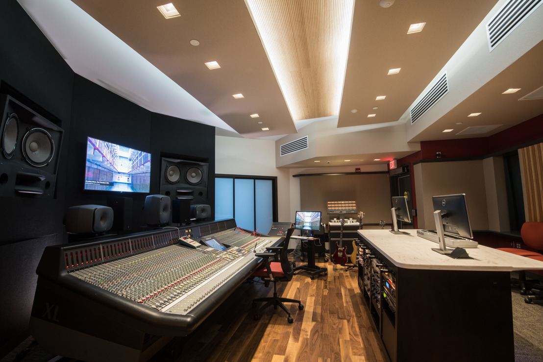 MONTGOMERY COUNTY COMMUNITY COLLEGE LAUNCHES NEW WSDG AUDIO TEACHING - CONTROL / MIXING ROOM