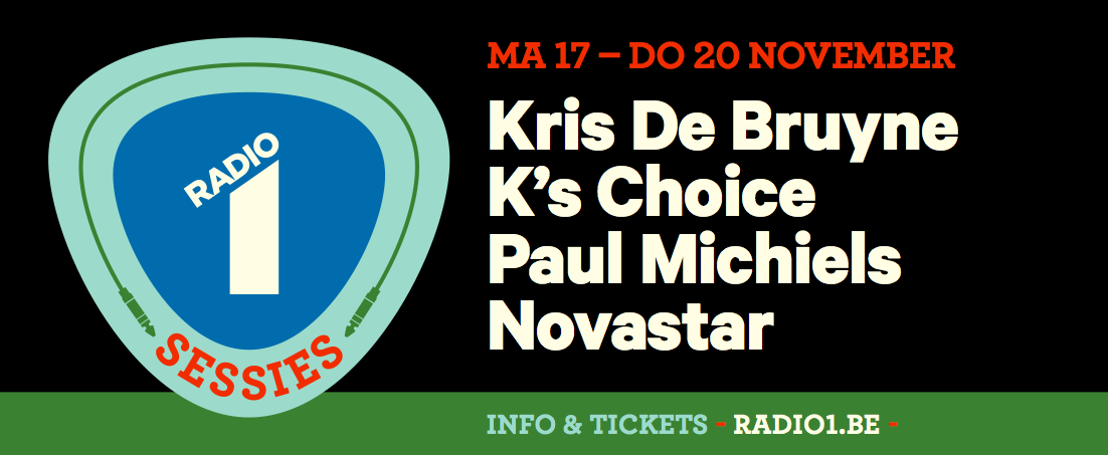 Novastar, K's Choice, Paul Michiels en Novastar op Radio 1 Sessies 2014