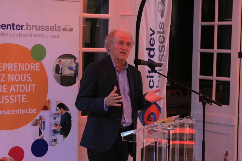Didier Gosuin, Ministre de l'Economie et de l'Emploi du Gouvernement de la Région de Bruxelles-Capitale