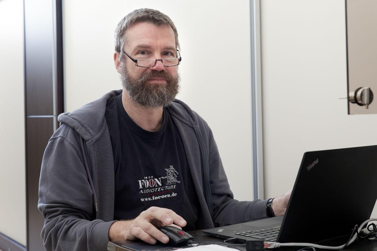 """Mit der Planung der Audiotechnik in der Basilika war Anselm Goertz vom """"IFAA - Institut für Akustik und Audiotechnik"""" befasst"""