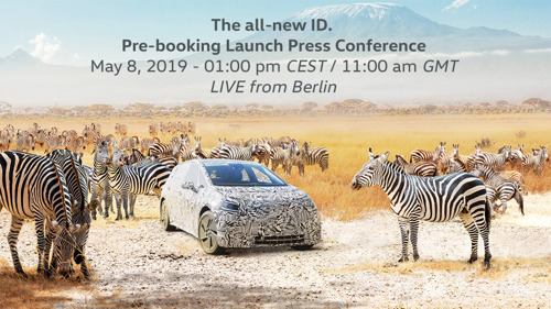The press conference for the start of pre-booking for the ID. is to take place today from 1 p.m.(CEST) and can be followed live using this link: https://volkswagen.gomexlive.com/vw_live_pk/