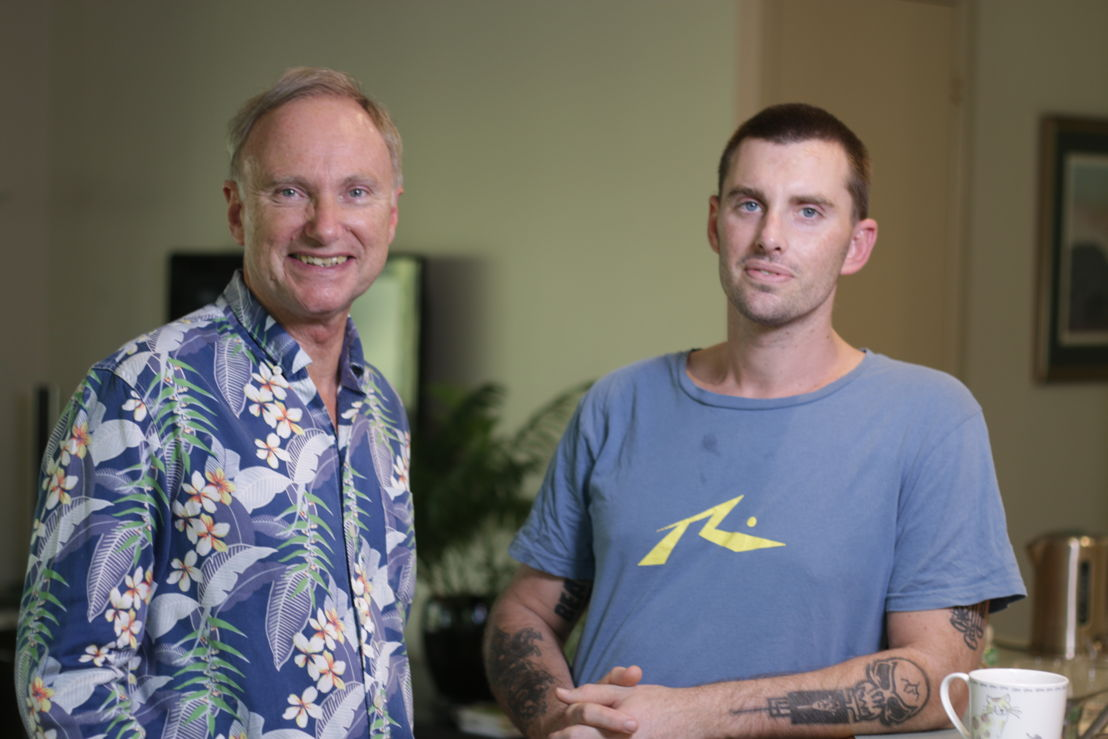 Australian Story<br/>Professor Tony Attwood and his son Wil Attwood.