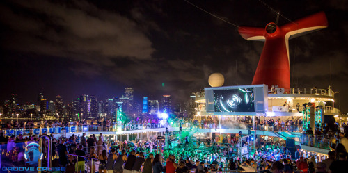 Groove Cruise Announces 2018 Phase One Lineup For Miami Sailing - January 26-29th
