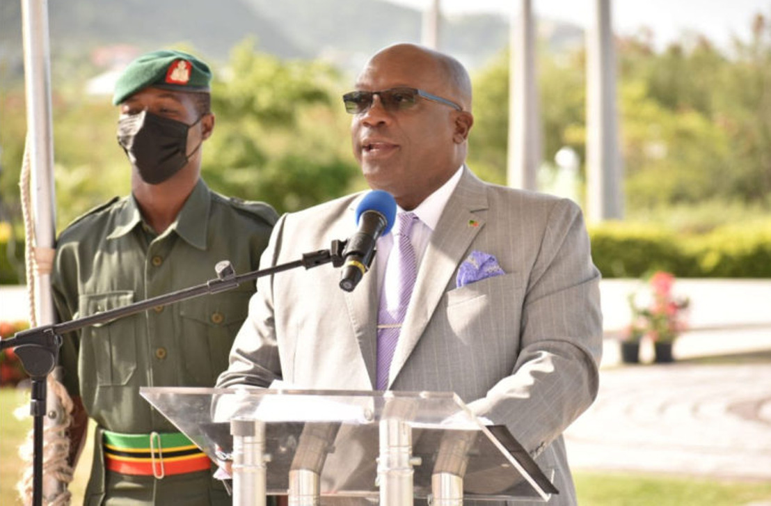 Address by Prime Minister of St Kitts and Nevis, the Hon. Dr. Timothy Harris, at a Flag Raising Ceremony to Commemorate CARICOM's 48th Anniversary