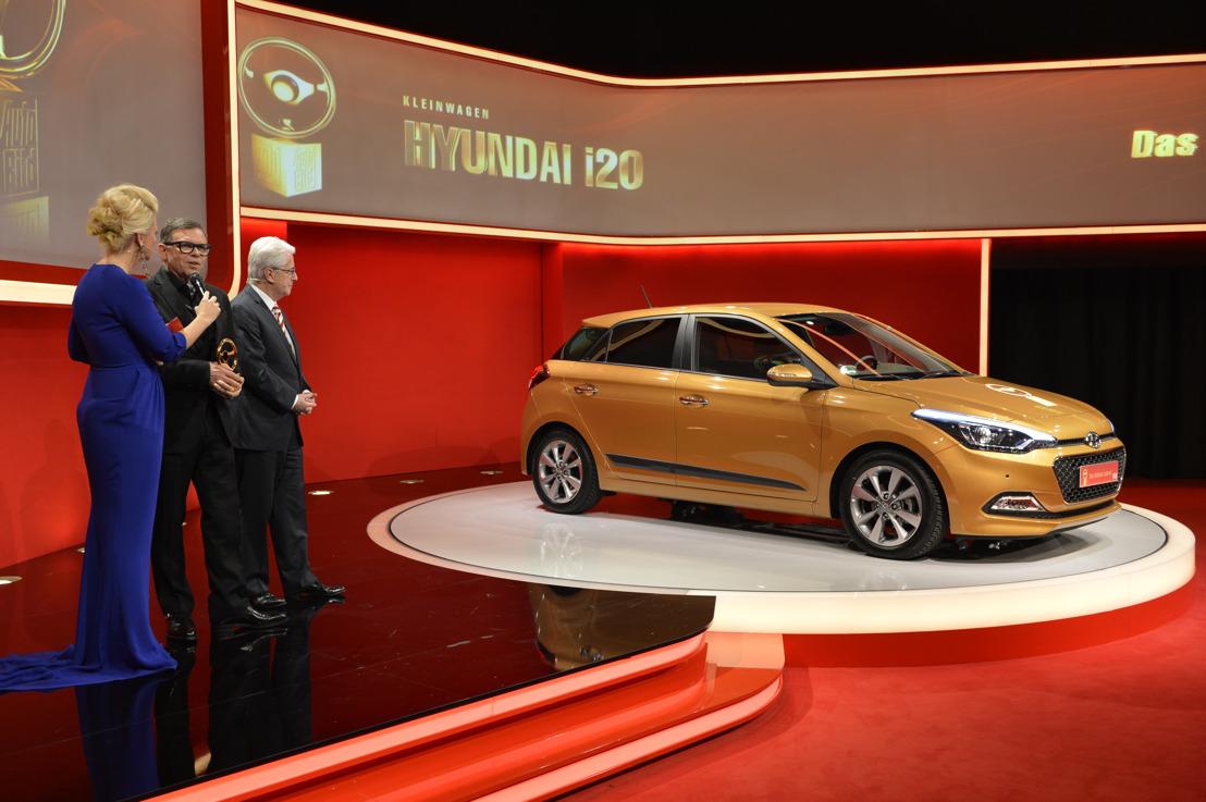 «Goldenes Lenkrad» für den New Generation Hyundai i20