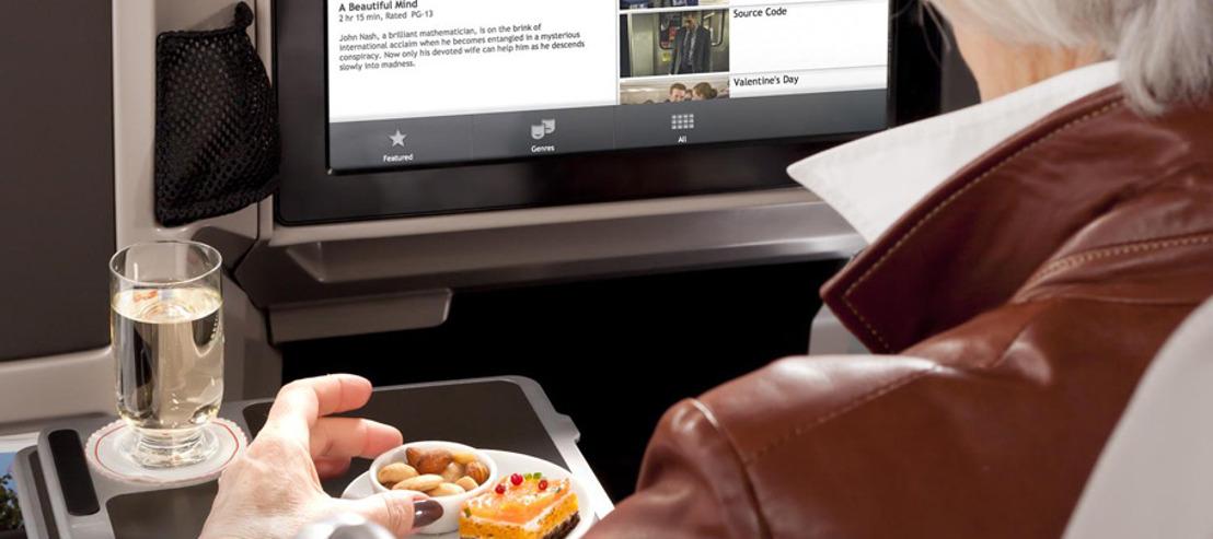 Brussels Airlines brengt Euronews op grote hoogte