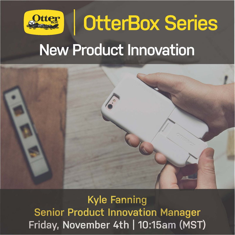 Students learn about taking a product from start to finish with a series on innovation hosted by OtterBox at Nepris.com.