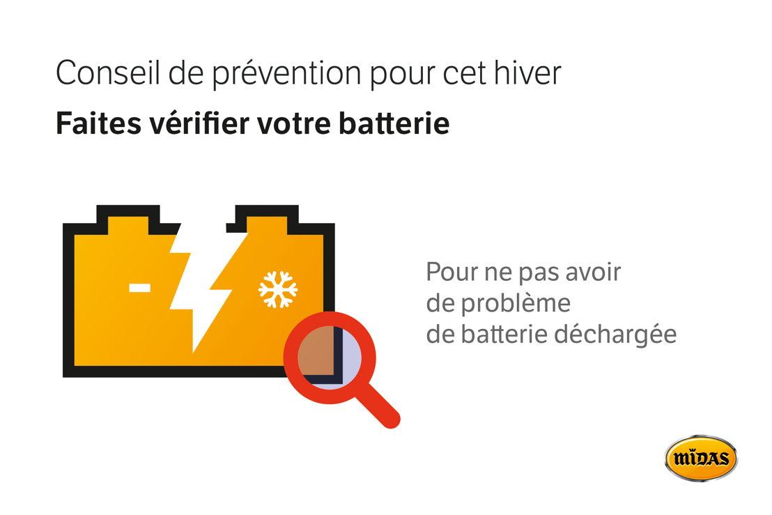 Conseil contrôle de batterie