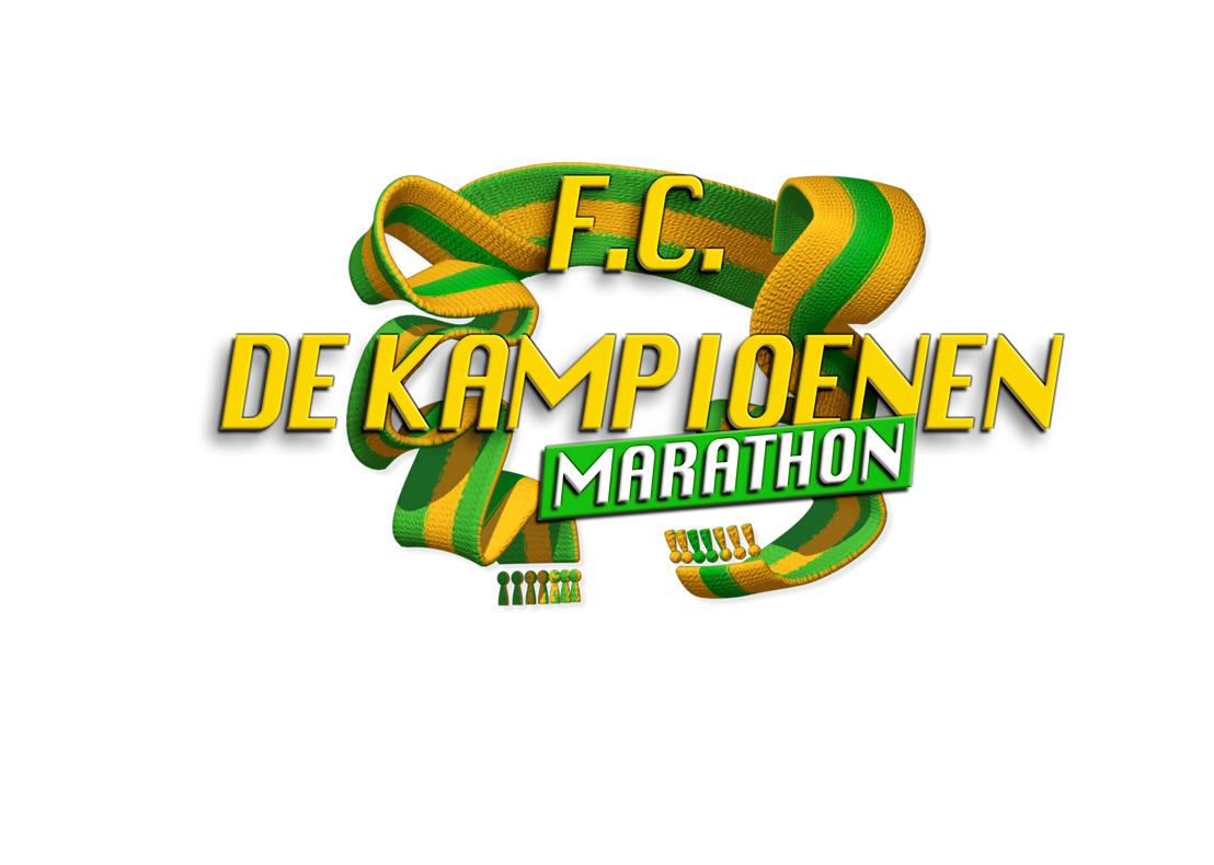 Kinepolis en Eén pakken uit met F.C. De Kampioenen-marathon van 24 uur