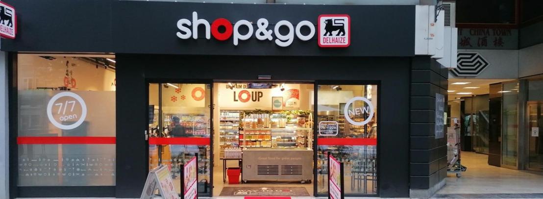 Le nouveau Shop&Go à Verviers situé Place Verte ouvre ses portes aujourd'hui