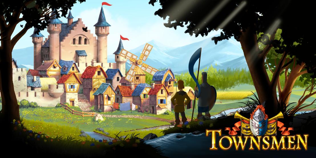 Metropolis Now! Townsmen out now on Nintendo Switch™