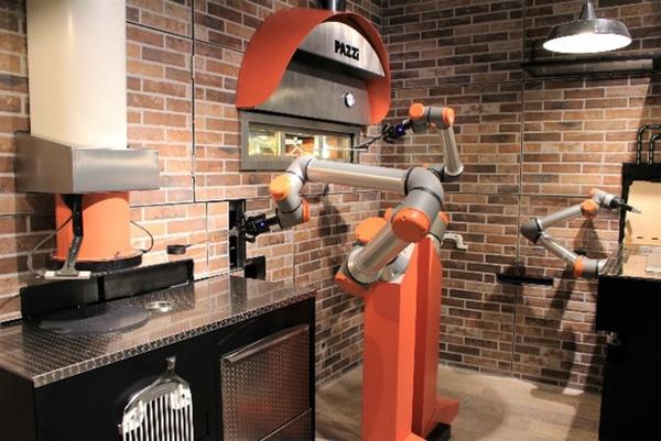 Preview: Pazzi ouvre à Paris le premier restaurant robotisé au monde