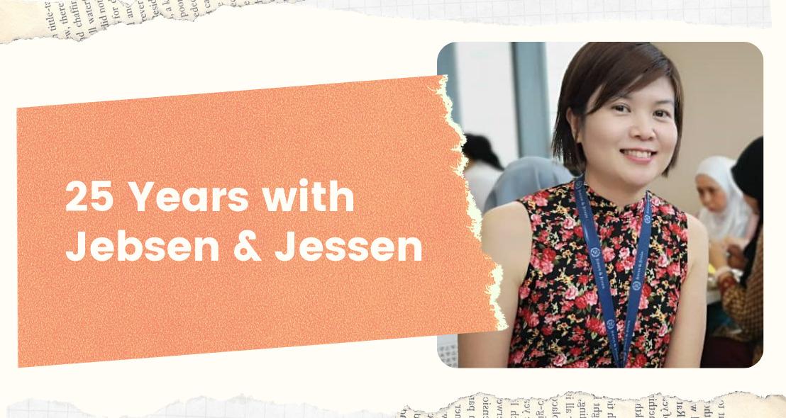 25 Years with Jebsen & Jessen