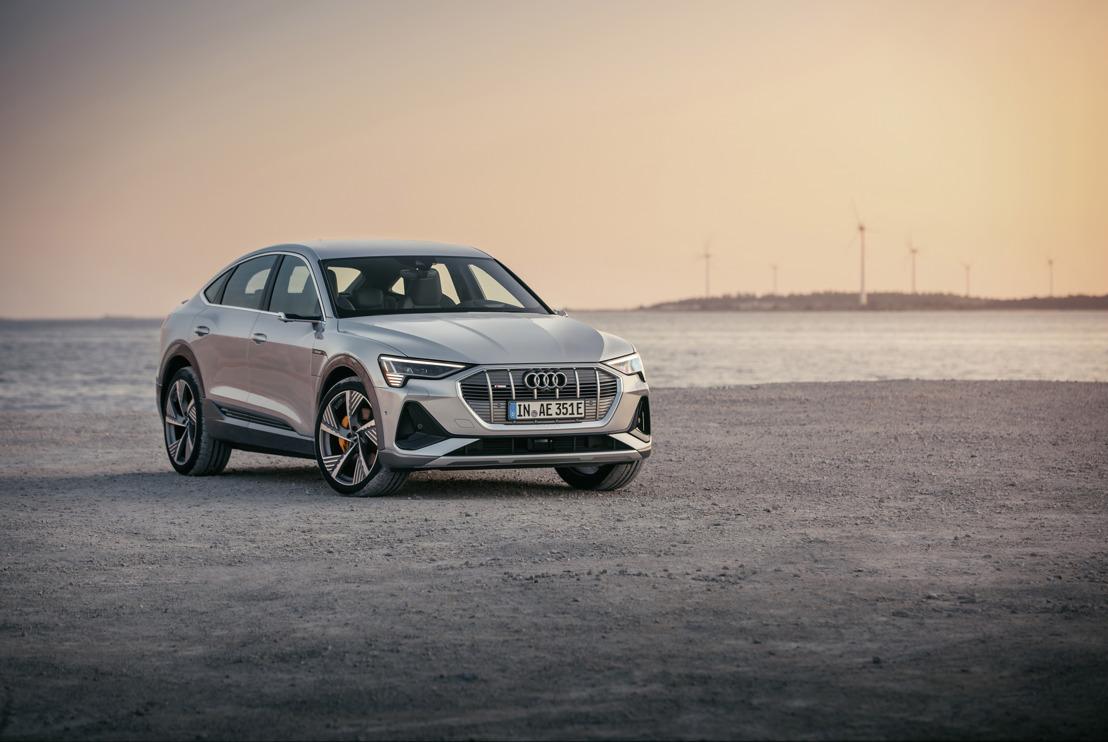 Un SUV coupé pour la famille e-tron : l'Audi e-tron Sportback
