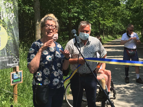Buggenhoutbos hotspot voor rolstoelgebruikers en personen met dementie