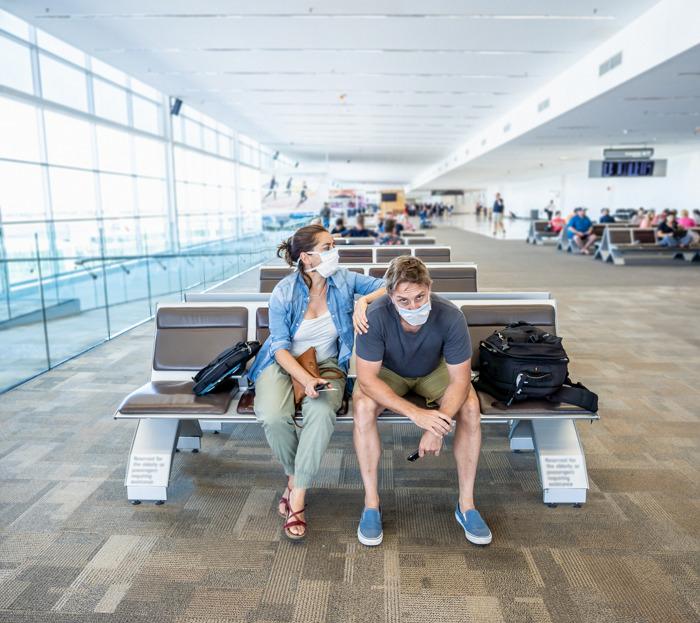 Bloqué à l'étranger: l'avion reste au sol. Que faire ?