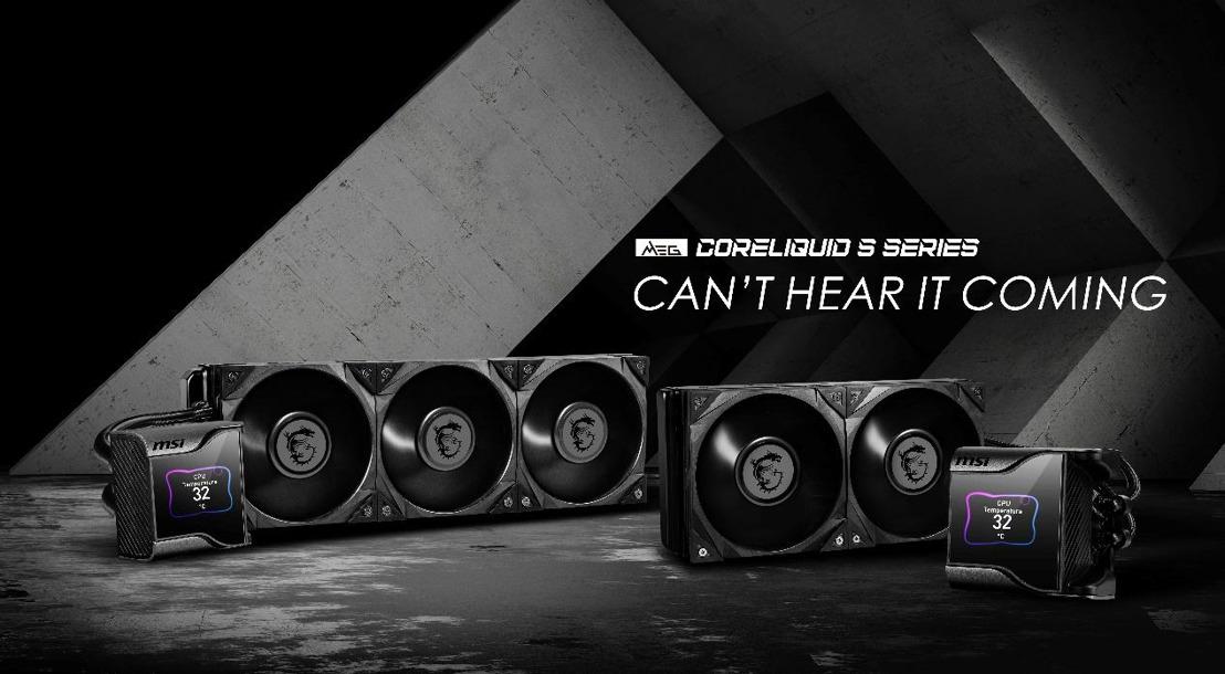MSI kündigt die neue MEG CORELIQUID S Serie an