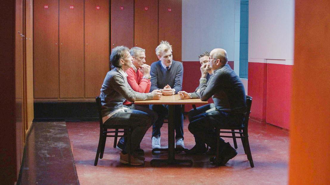 Antwerp 1993: Rudi Smidts,  Alex Czerniatinsky, Ruben Van Gucht, Cisse Severeyns, Walter Meeuws - (c) Deklat Binnen