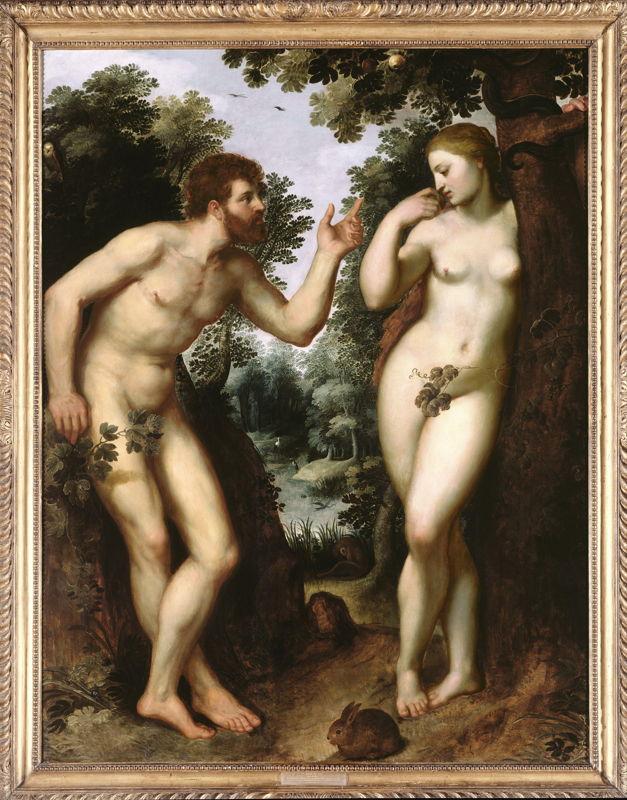 Peter Paul Rubens - Adam en Eva (c) Lowie De Peuter en Michiel Wuyts