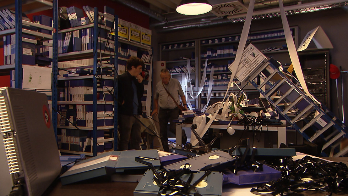 Ingebroken in archiefruimte 't Is Gebeurd