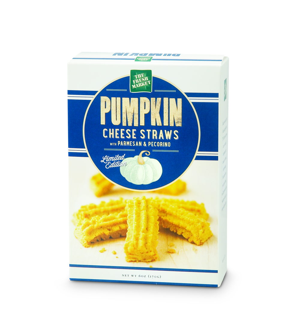 Pumpkin Cheese Straws