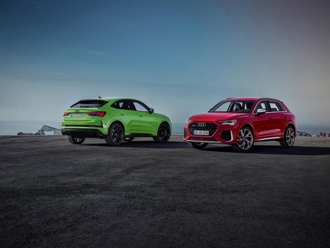Compacte brokken energie: Audi RS Q3 en Audi RS Q3 Sportback