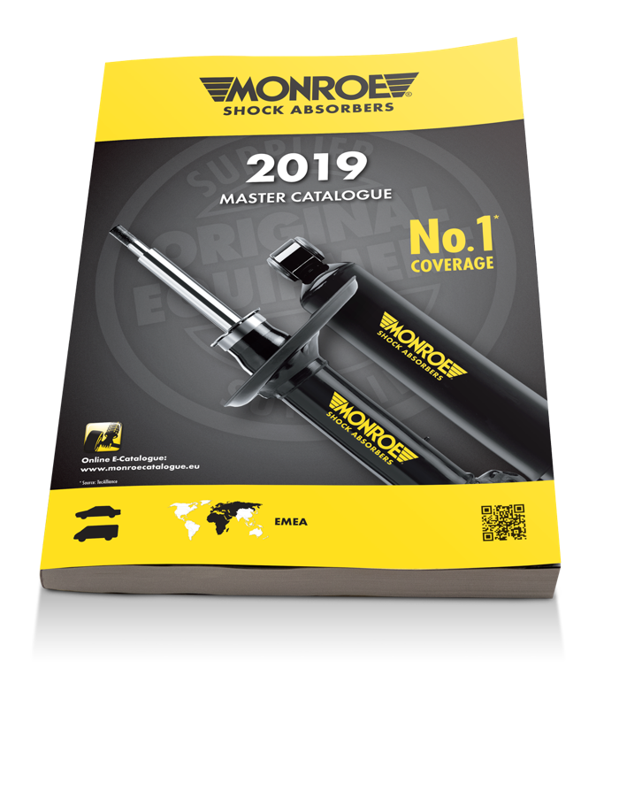 Preview: Tenneco Issues New Monroe Shock Absorber Catalogue for Light Vehicles
