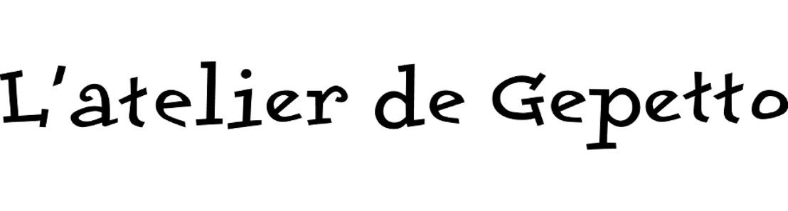 Communiqué de presse : L'atelier de Gepetto