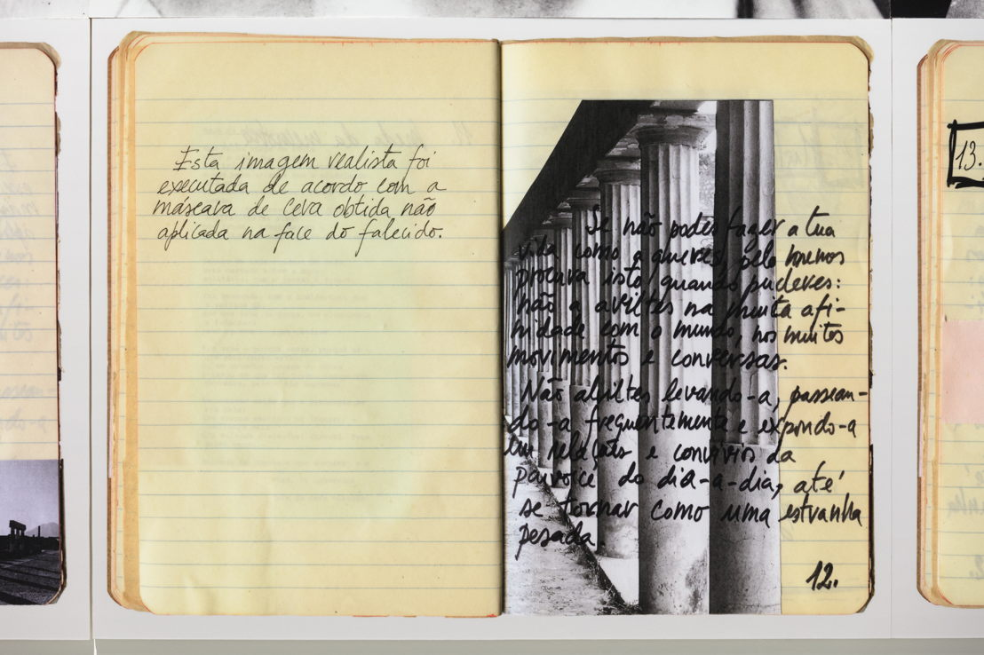 NoteBook - La Morte del Desiderio (2018) - Vasco Araújo<br/><br/>© Vasco Araújo