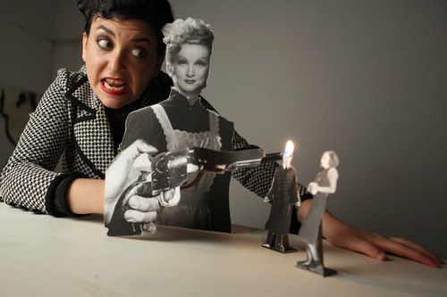 Puppetry meets film noir in staging of Paper Cut at the Center for Puppetry Arts