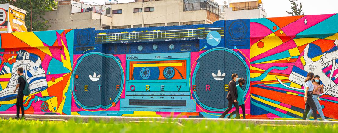 adidas Originals pinta a la Ciudad de México con sus 5 nuevos murales