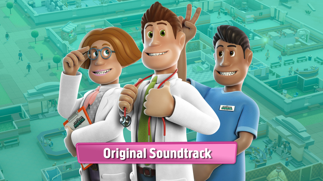 THE OFFICIAL TWO POINT HOSPITAL SOUNDTRACK IS AVAILABLE NOW ON STEAM