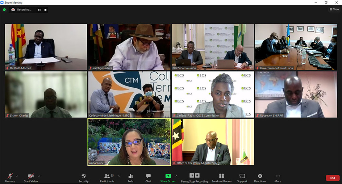 OECS Heads of Government Discuss Vaccine Confidence