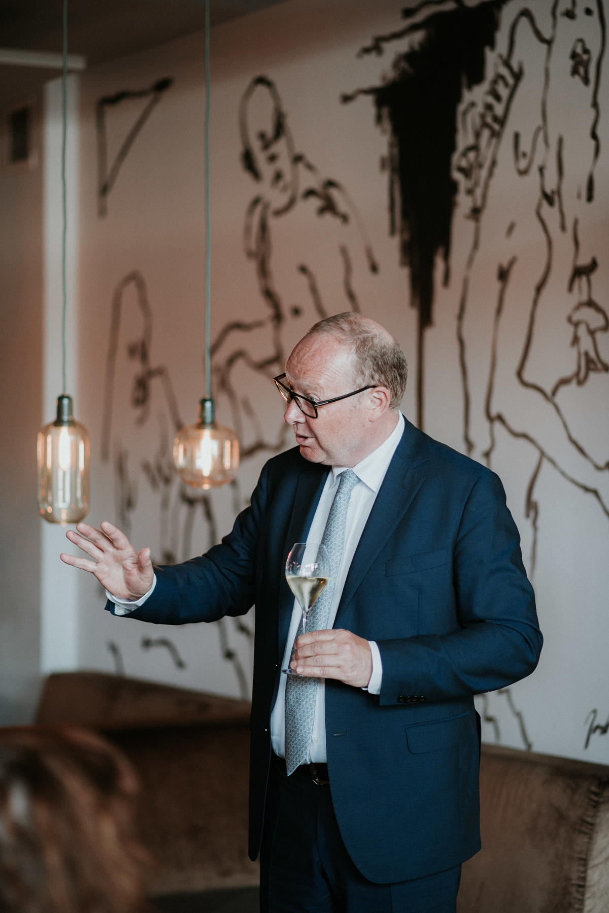 Mikael Falkman - ambassadeur van Champagne Taittinger