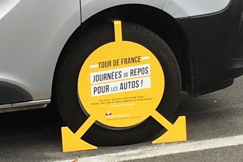 VO Citizen à la tête de la campagne du Tour de France pour Bruxelles Mobilité