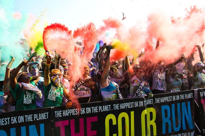 Oostende_Color Run