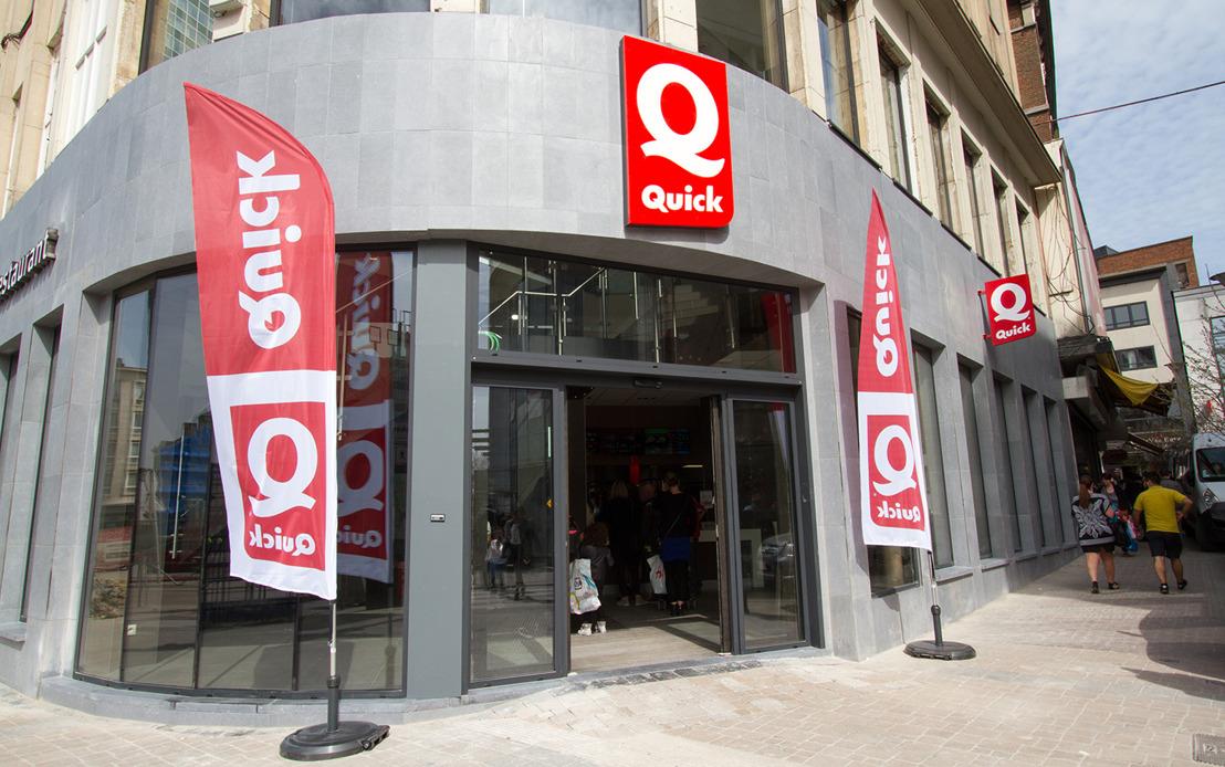 Le restaurant Quick Ville Basse rouvre ses portes