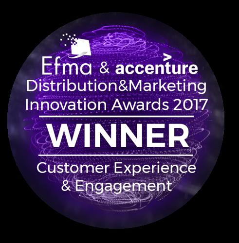 KBC kaapt opnieuw EFMA innovatie-award weg