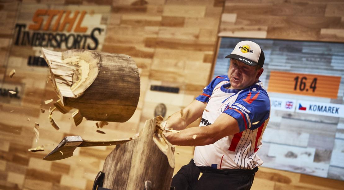 Les participants sont confirmés. Prague se prépare pour le Championnat du monde STIHL TIMBERSPORTS® 2019.