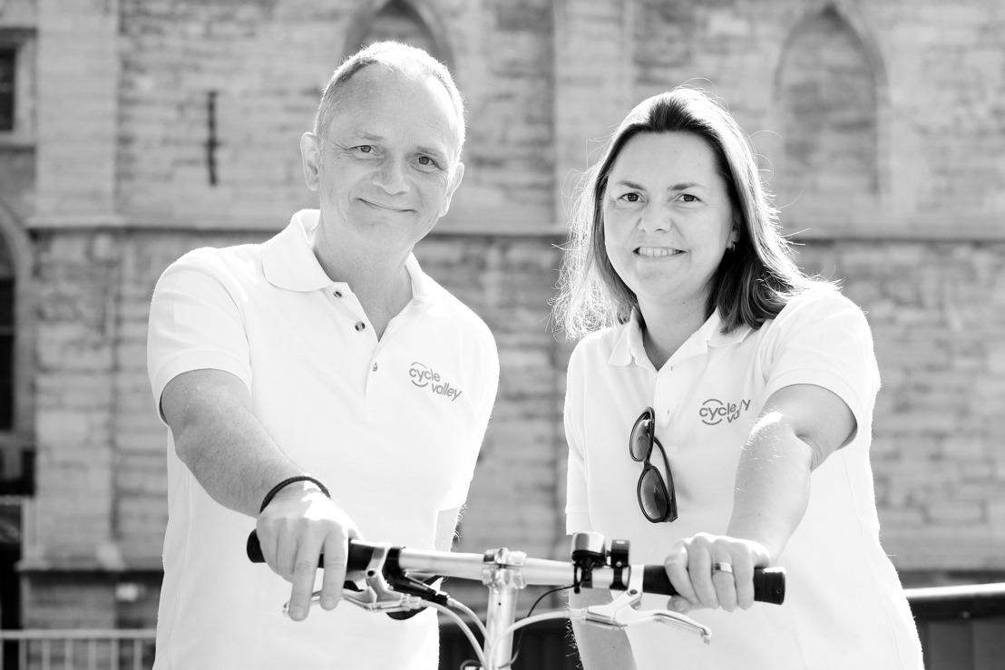 PERSUITNODIGING: Maand van de mobiliteit - GOB en Cycle Valley promoten elektrische fiets bij medewerkers in Brussel